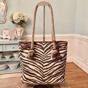 Michael Kors Tiger Marina Grab Bag